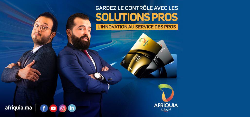 Solutions Pros Afriquia – Porte-clés d'identification