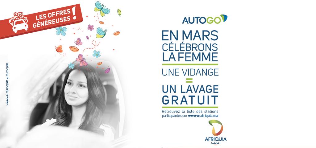 EN MARS, AUTOGO CÉLÈBRE LA FEMME !