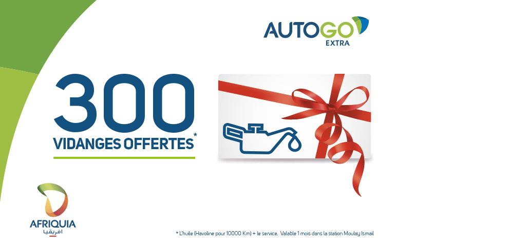 AutoGo 300 vidanges ouvertes